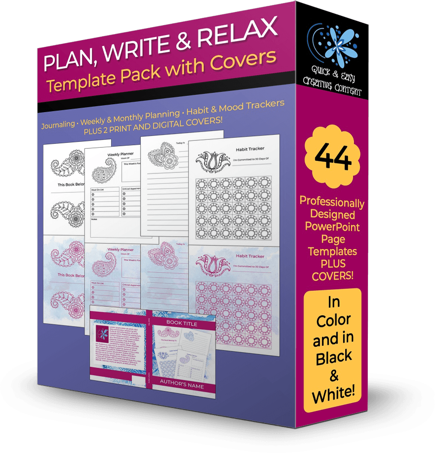 Plan write relax template pack