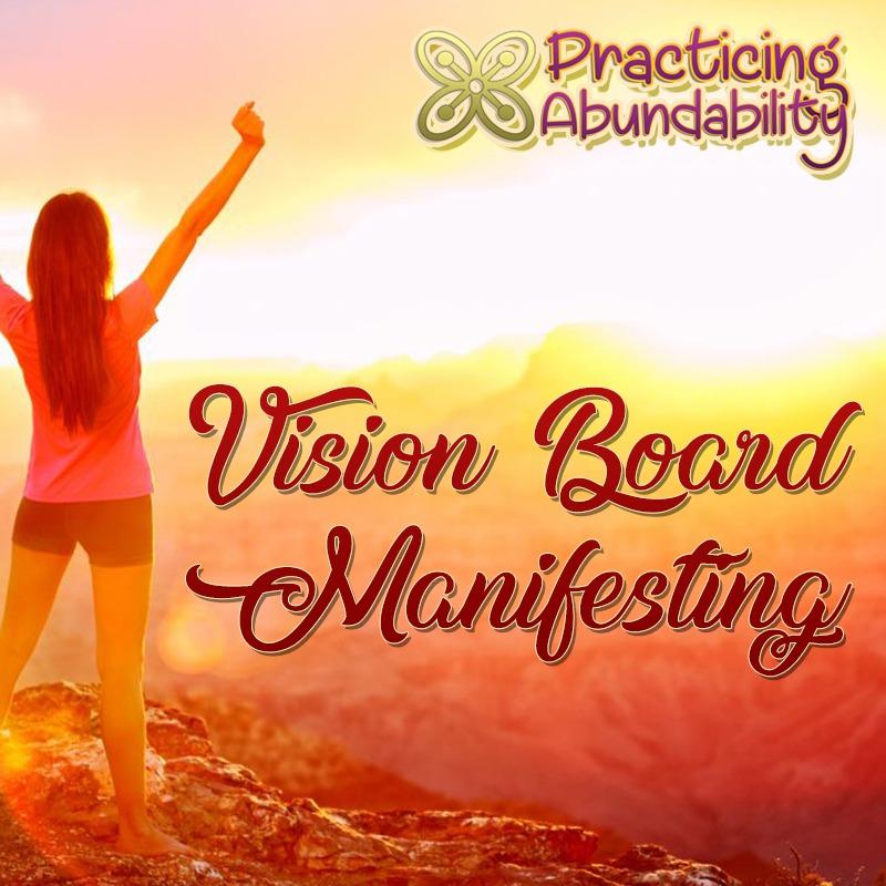 abundability vision board manifesting