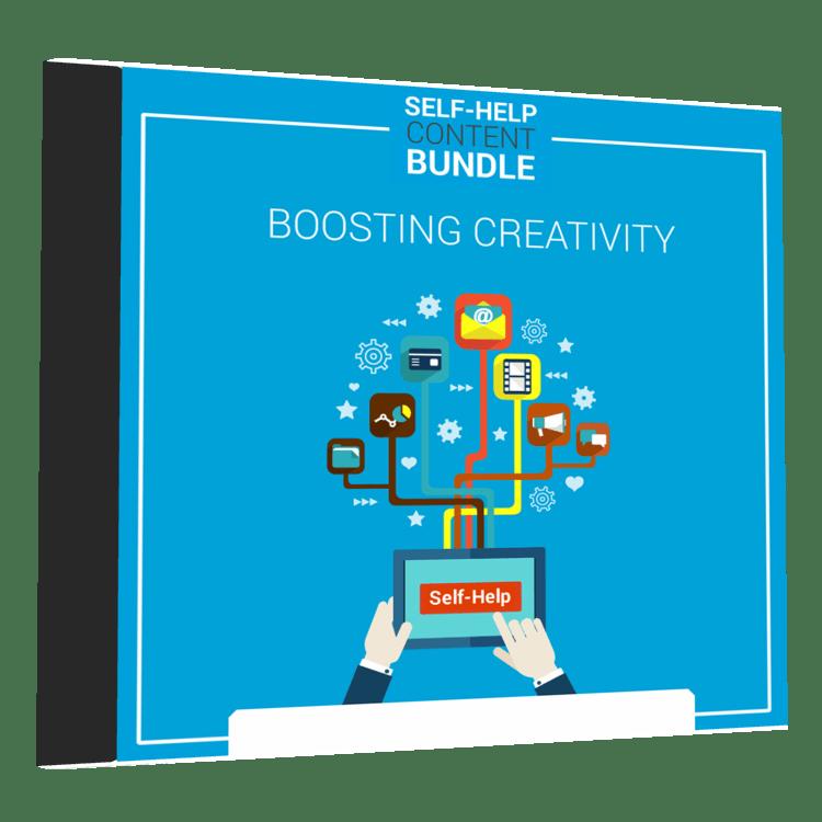 boosting creativity plr bundle