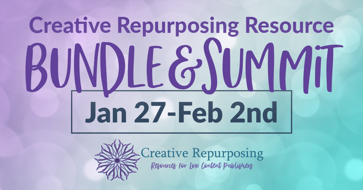 creative repurposing resource bundle and summit