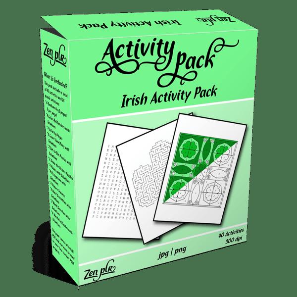 Irish Activity pack