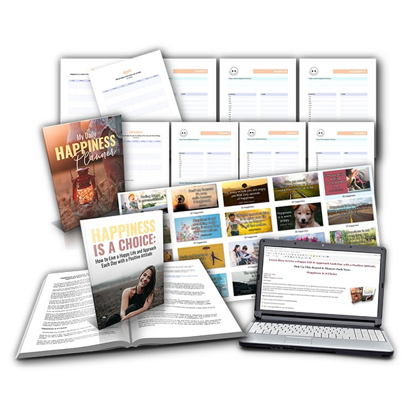 happiness report and planner plr