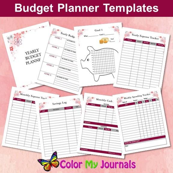 budget planners plr