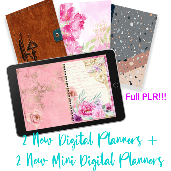 digital planner plr