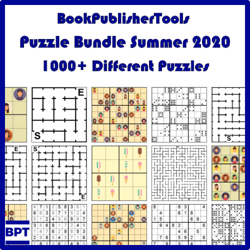 summer puzzle bundle commercial rights