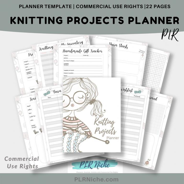 Knitting Planner