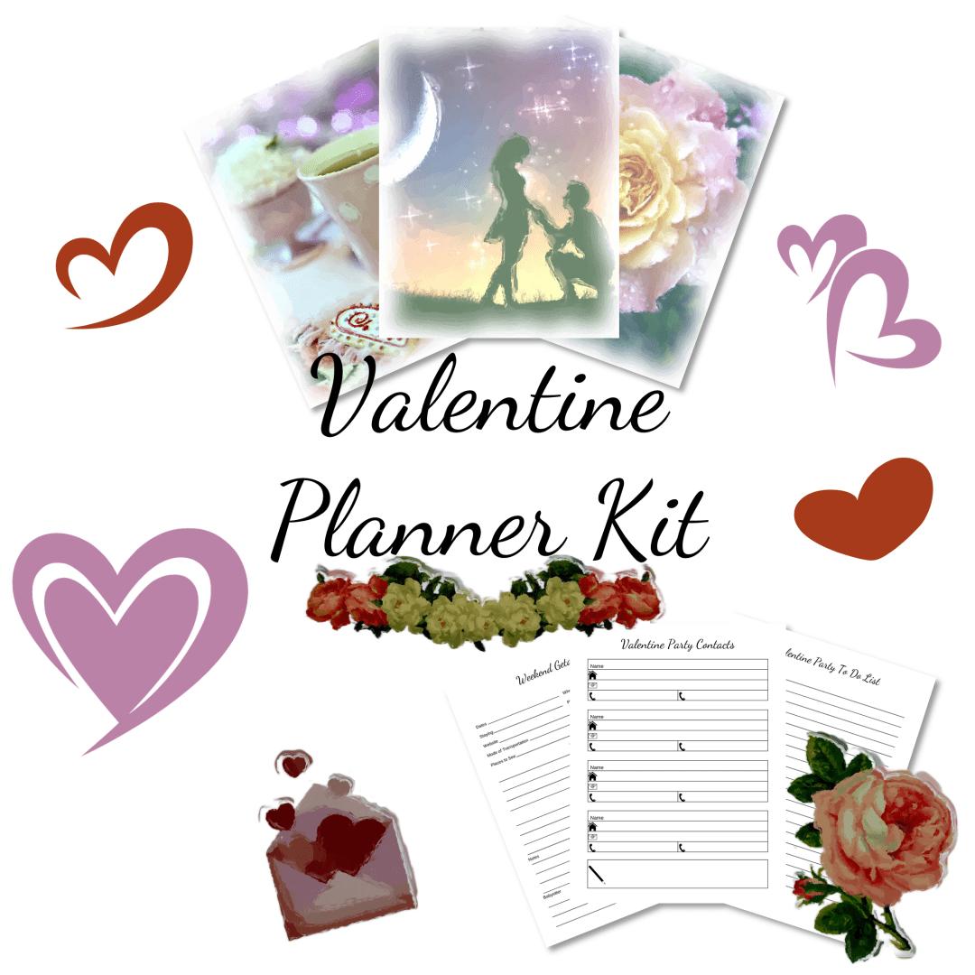 Valentine Planner Kit