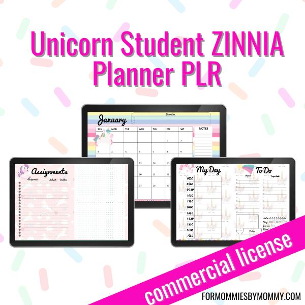 Unicorn Student Planner