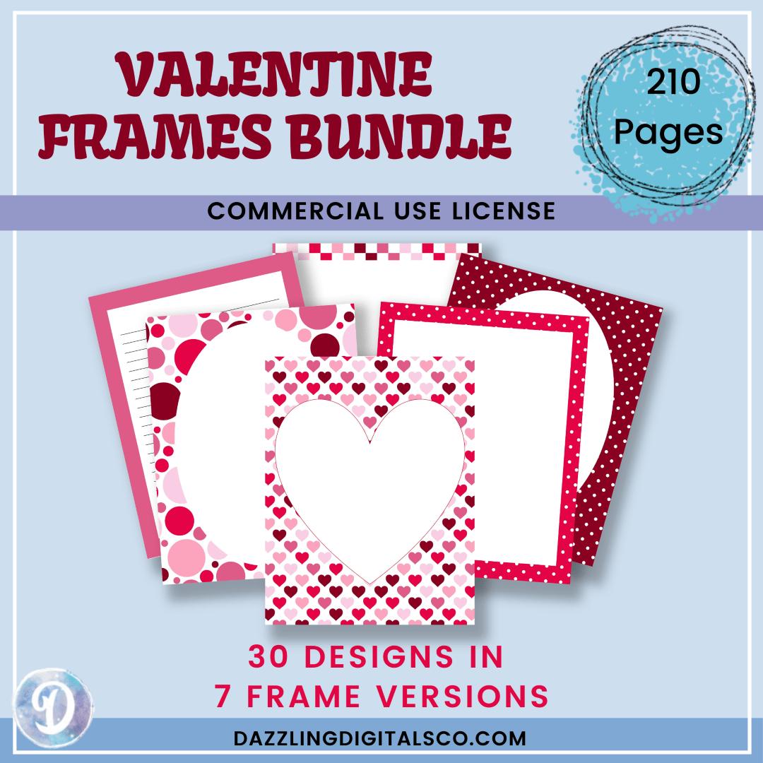 Valentine Frames Bundle