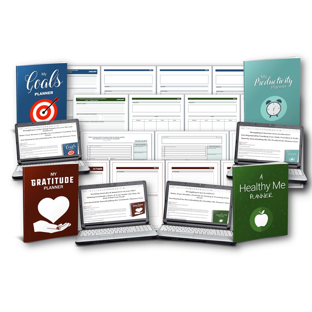 Personal Planner Mega Pack