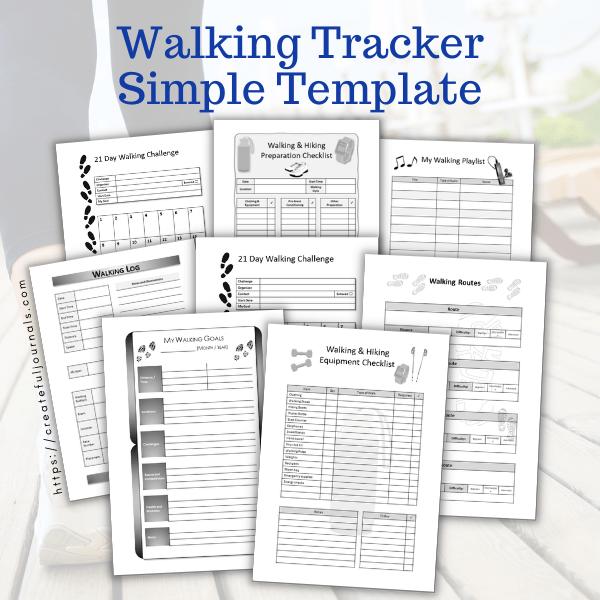 Sue walking tracker mockup
