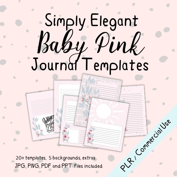 maria baby journal templates