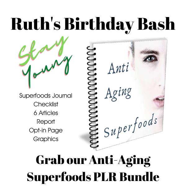 Anti Aging Superfoods Journal Bundle