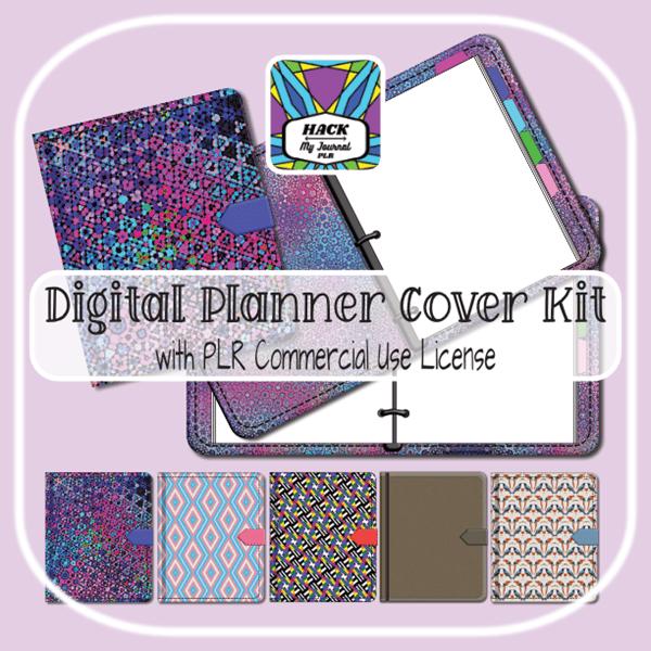 Digital Planner covers kit