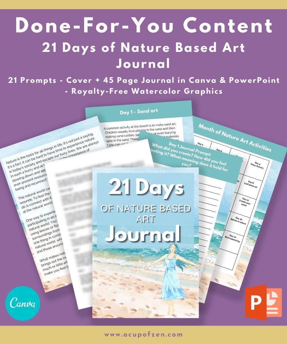 Nature Journal Mockup