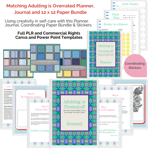 Adulting is Overrated Printables