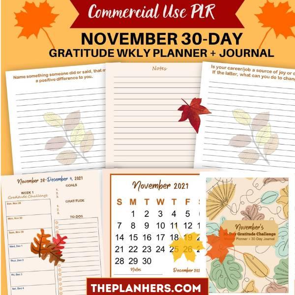 Gratitude Challenge mockup
