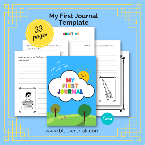 My First Journal template image